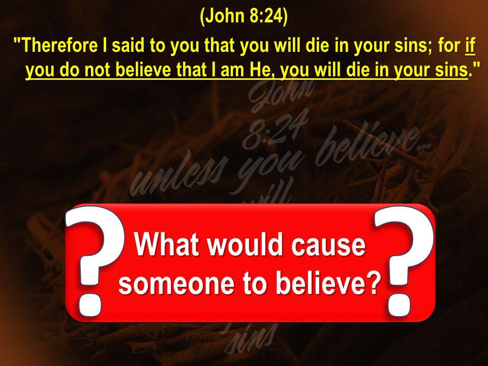 (John 8:24)