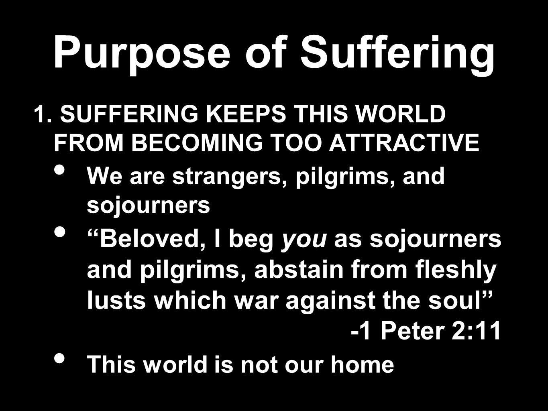 Purpose of Suffering 2.