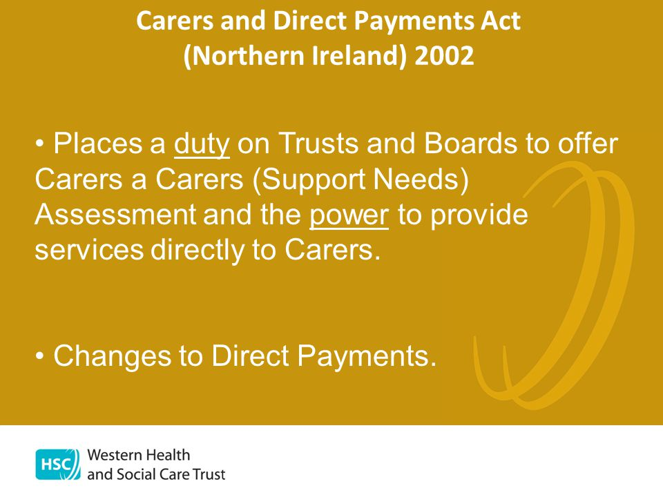 Carer Support Role To drive forward the Carers Strategy (action plan for each POC).