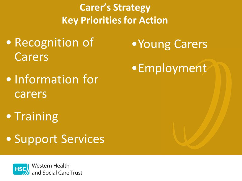 What does this mean in practice.Development of Carer Support Needs Assessment (Regional tool).