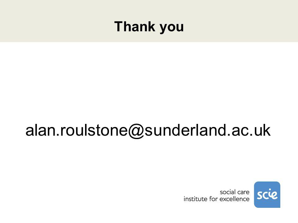 Thank you alan.roulstone@sunderland.ac.uk