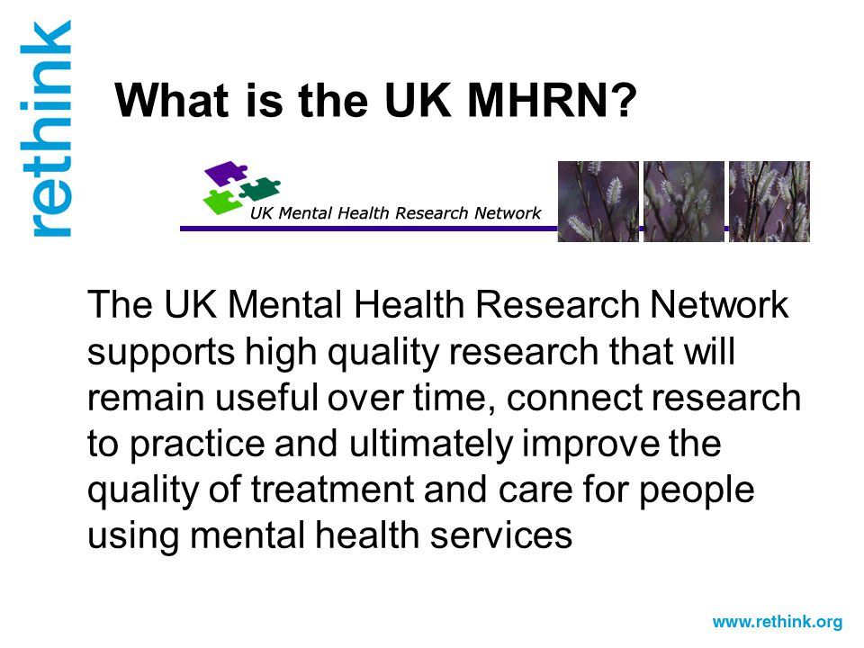 What is the UK MHRN.