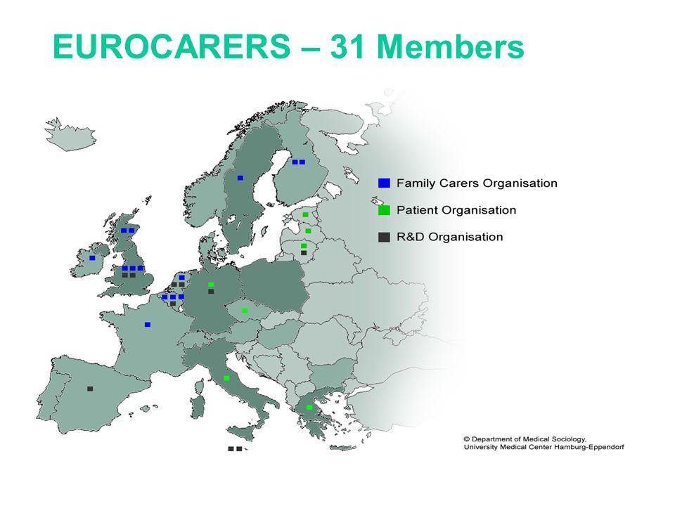 EUROCARERS – 31 Members