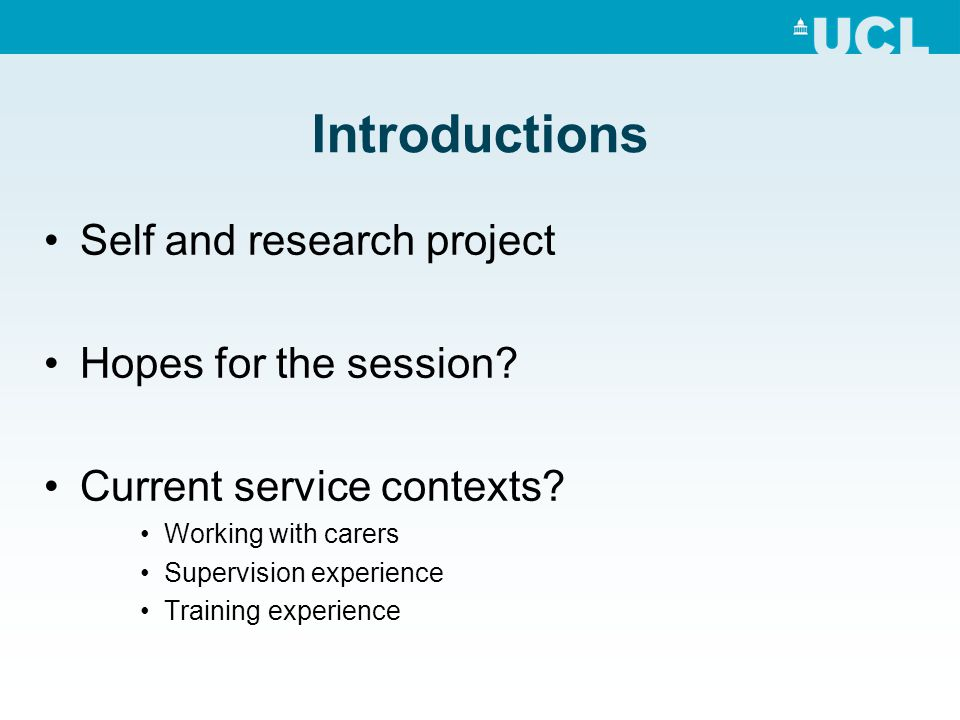 Carer Quotes (Sommerlad et al., 2014) NHS services gave a lot of information at diagnosis; too much negative info at once.