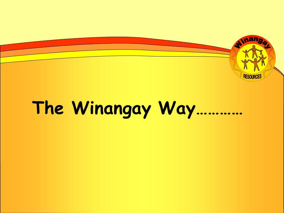 The Winangay Way…………