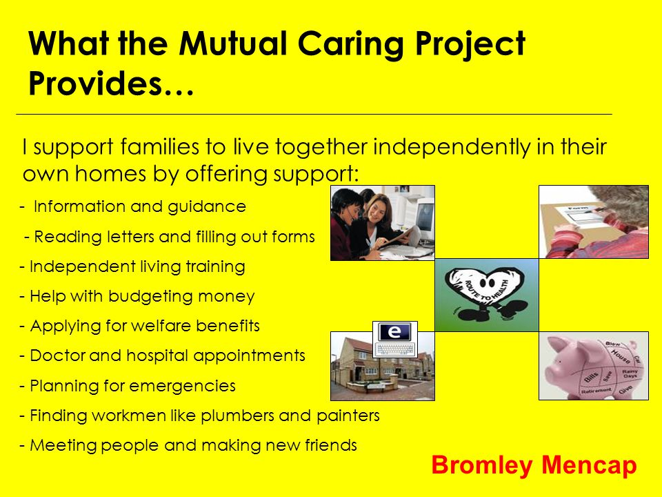 The Mutual Carers Project works in partnership with key organisations including...