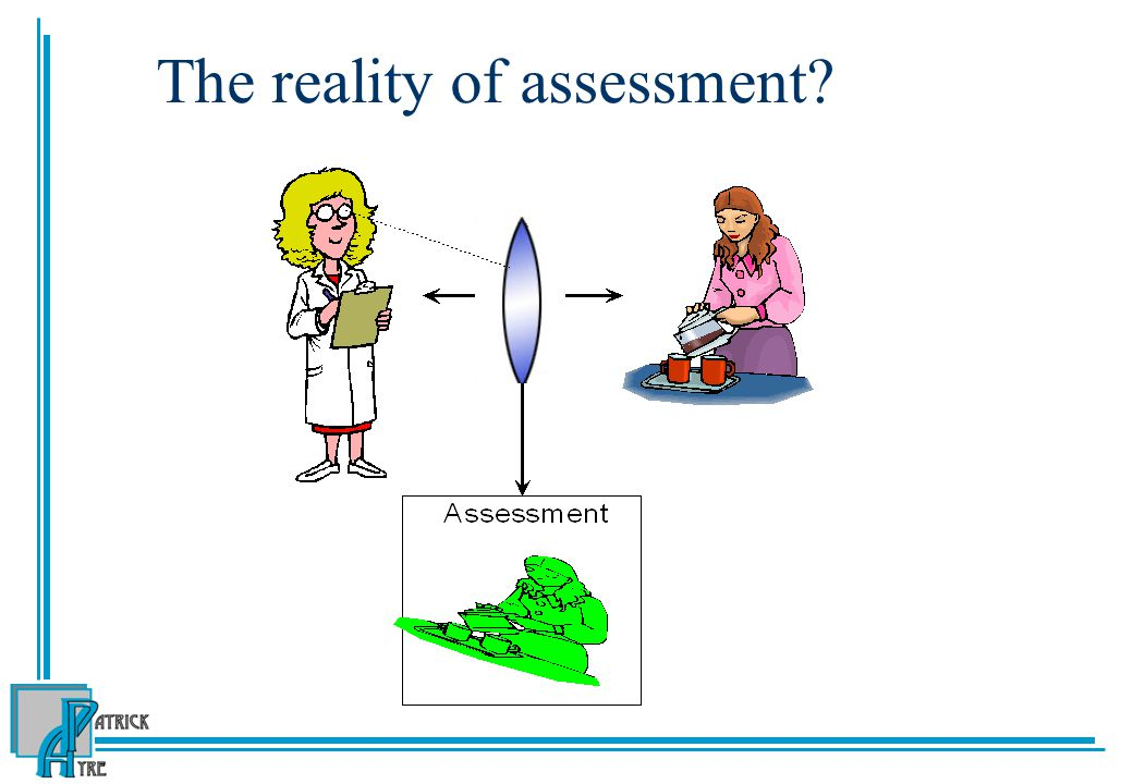 The reality of assessment?