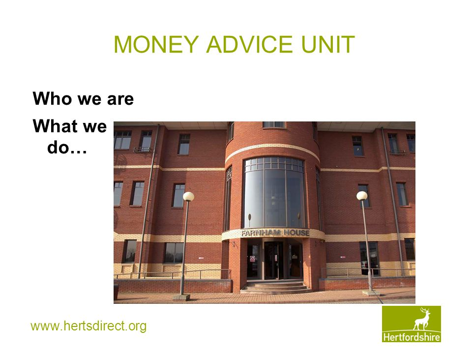 www.hertsdirect.org Who are we.