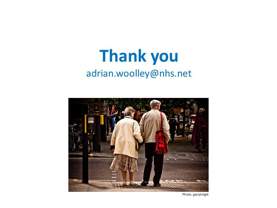 Thank you adrian.woolley@nhs.net Photo: garryknight