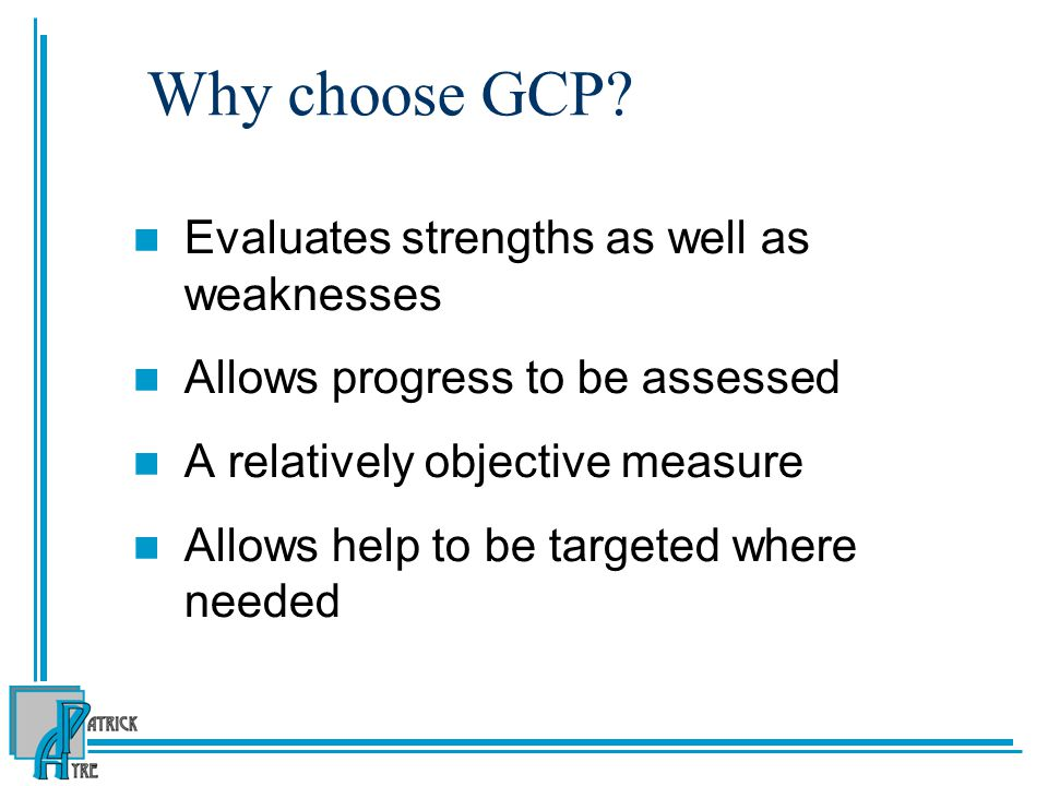 Why choose GCP.
