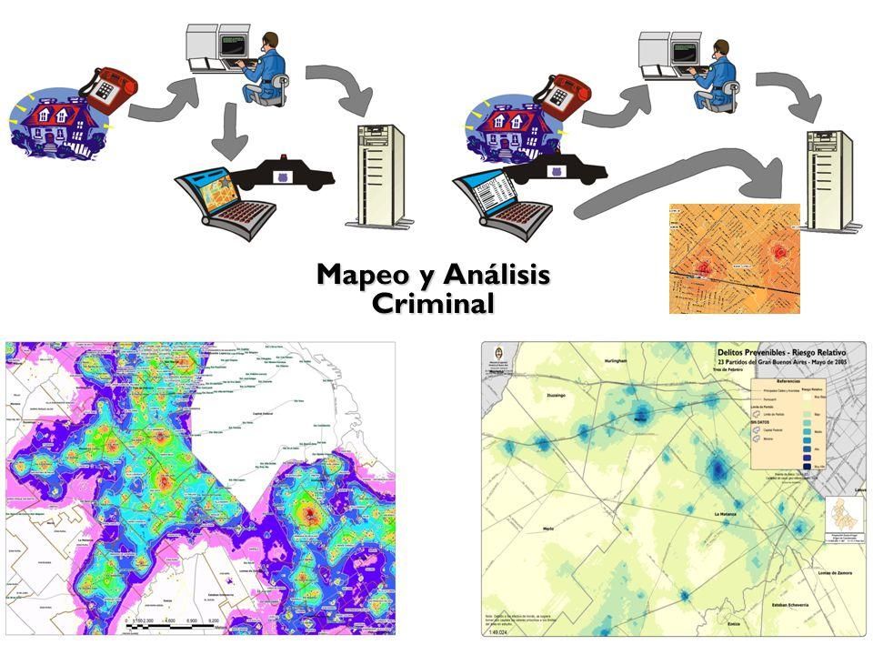 Mapeo y Análisis Criminal