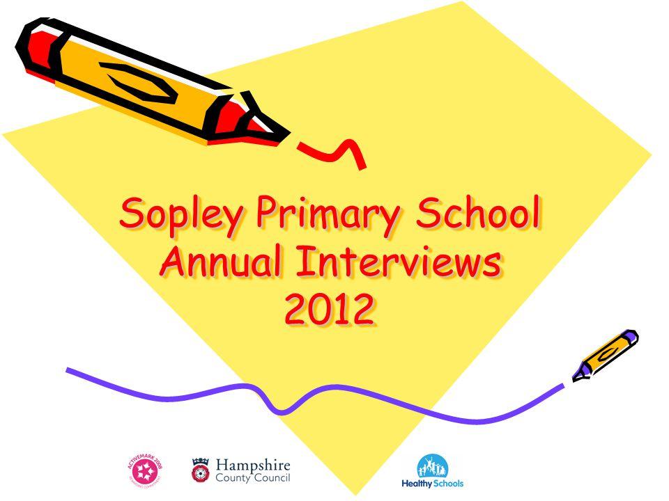 Sopley Primary School Annual Interviews 2012