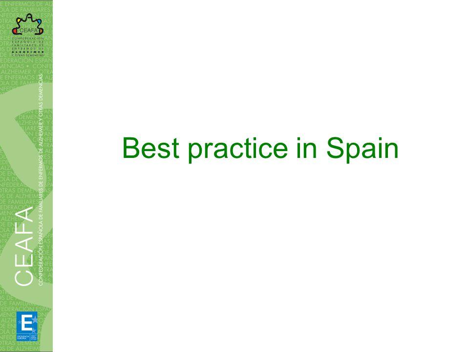 Best practice in Spain