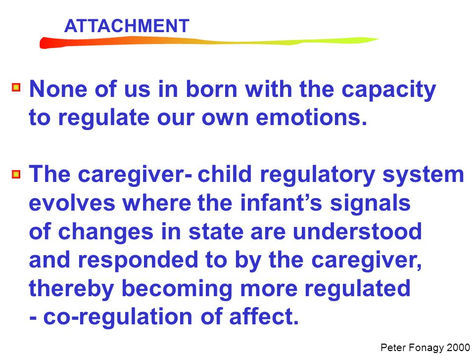 The aim when working with parents is to help them develop their capacity for reflective functioning; to help them mentalise their own and their children's experience.