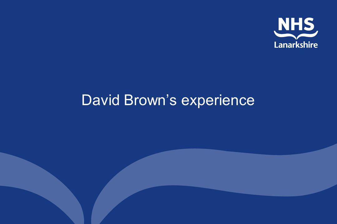 David Brown's experience
