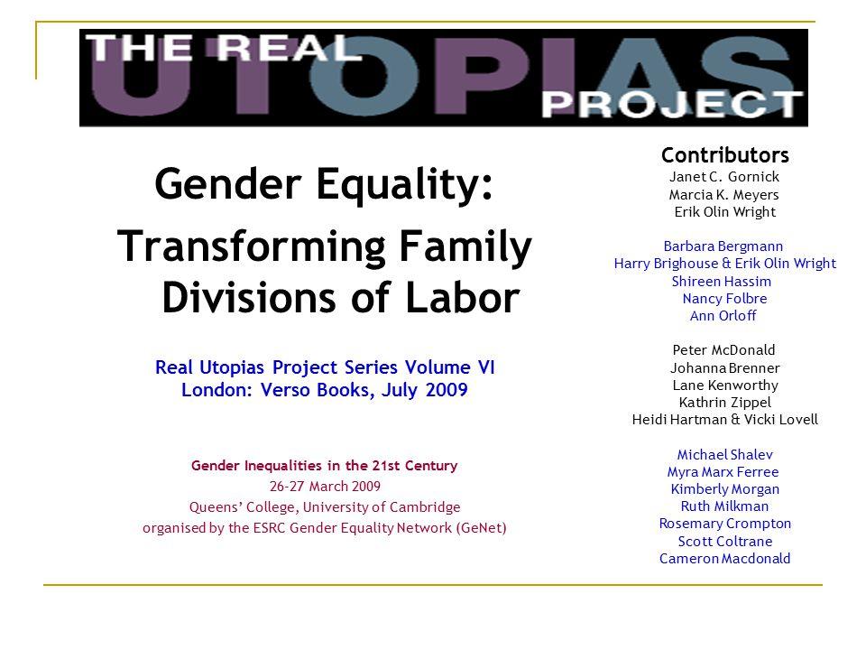 Contributors Janet C. Gornick Marcia K.