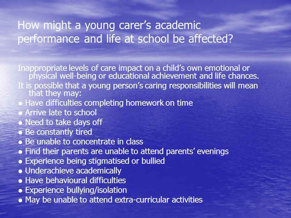 Difficulties in attending parents evenings and other school functions, due to disability, long-term illness, or because the event clashes with a medical appointment.