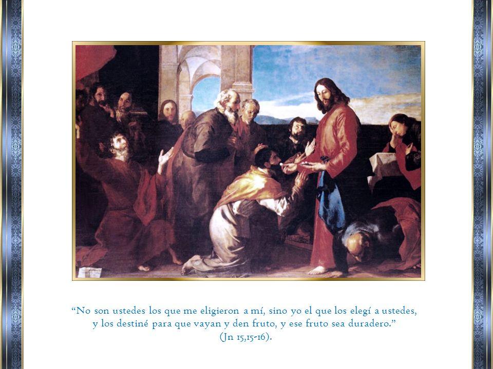 Ya no los llamo servidores, porque el servidor ignora lo que hace su señor; yo los llamo amigos, porque les he dado a conocer todo lo que oí de mi Padre.