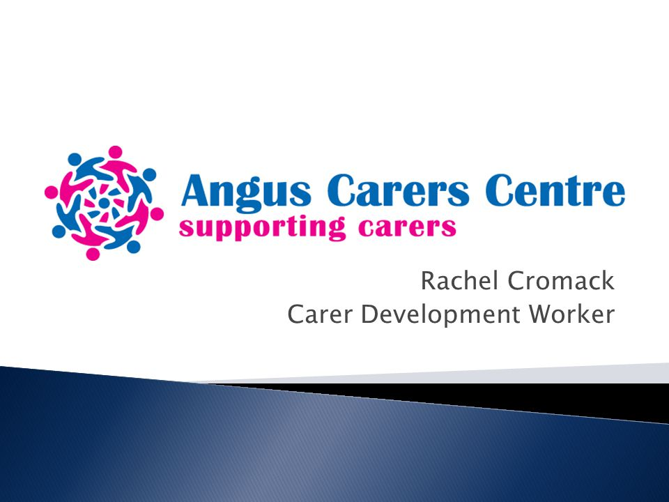 Rachel Cromack Carer Development Worker