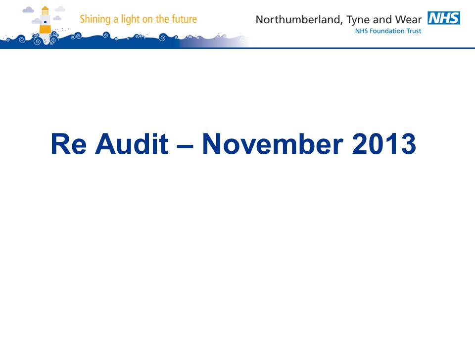 Re Audit – November 2013