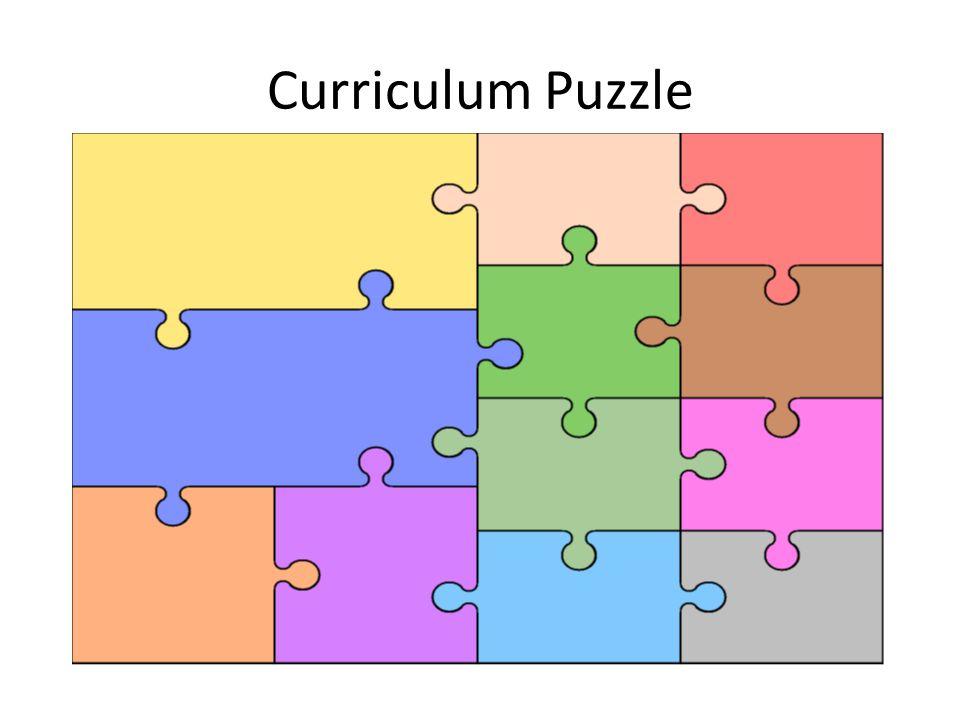 Curriculum Puzzle