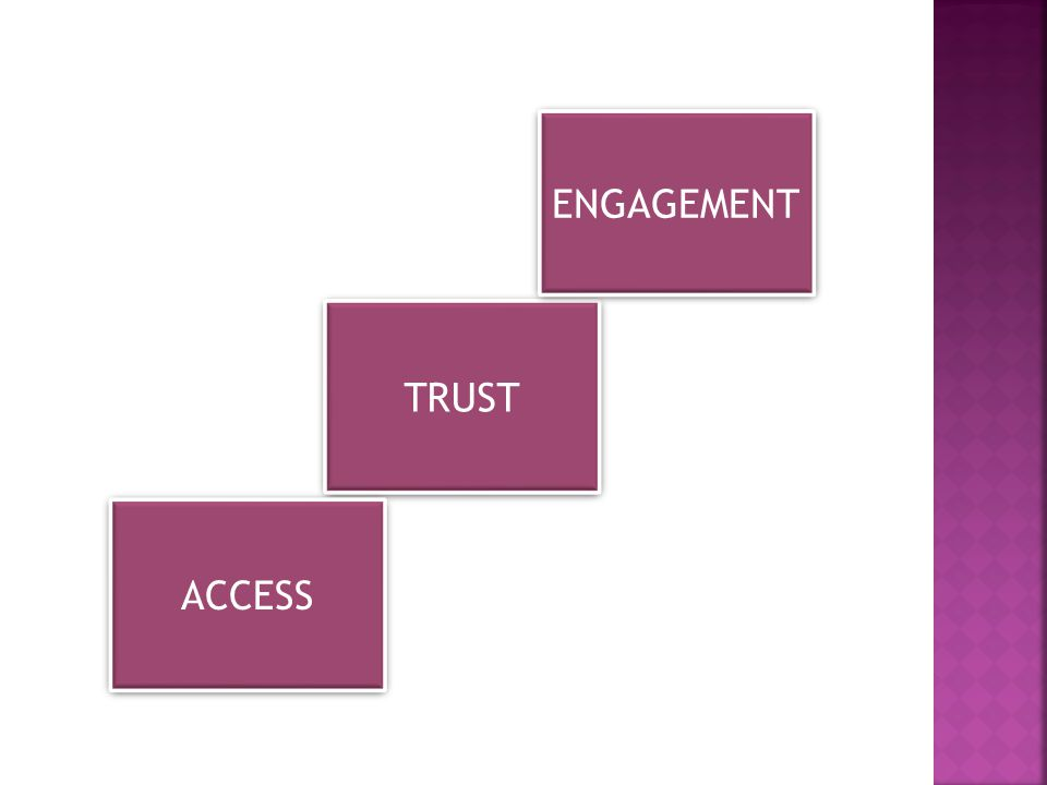 TRUST ENGAGEMENT ACCESS