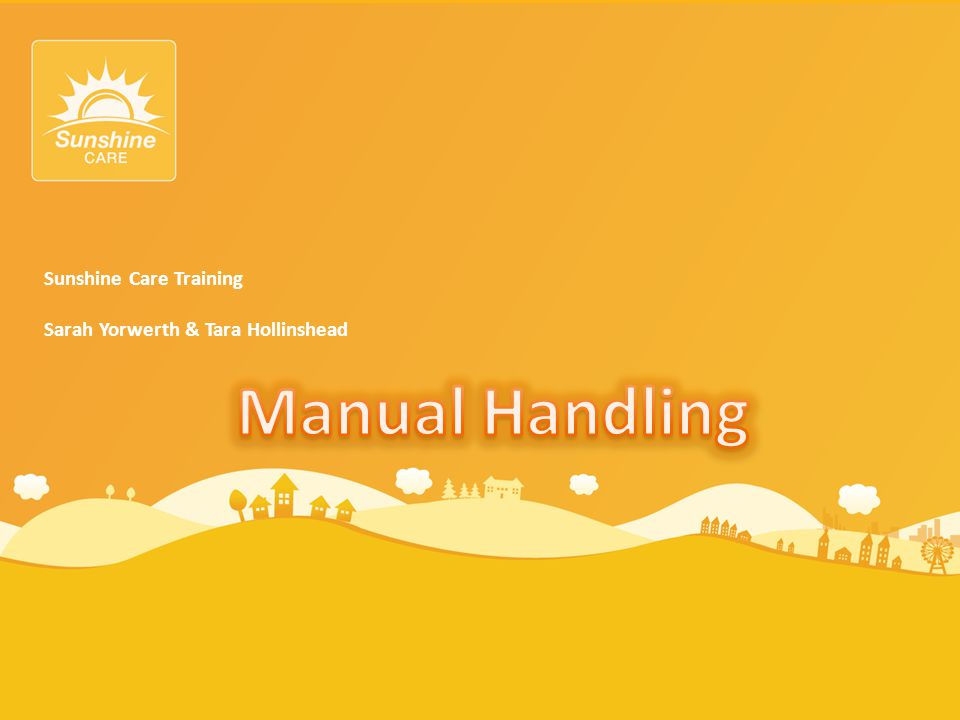 What is Manual Handling.