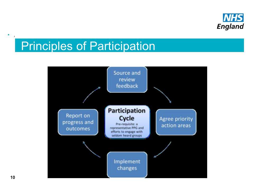 10, Principles of Participation