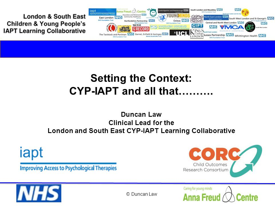 Drivers 2 CYP IAPT begins Health inequalities and CYP-LD (access &recognition- eg Simonoff et al.