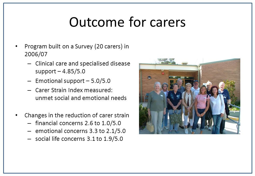 Patient/Carer led education – empowerment to set the topics