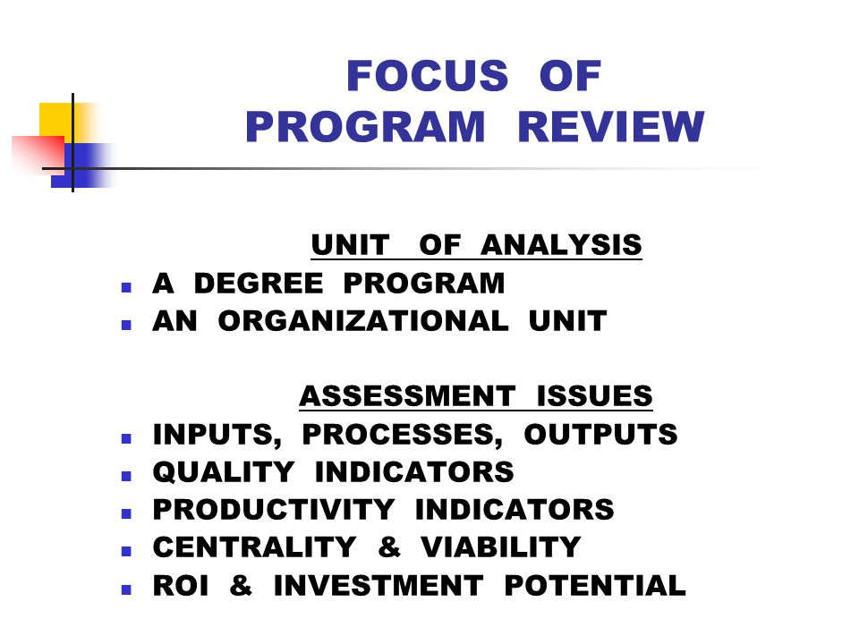 DISSATISFACTION WITH THE A WORD & REPORTS Unfocused Reports – assessments rarely tied to learning outcomes or program goals.