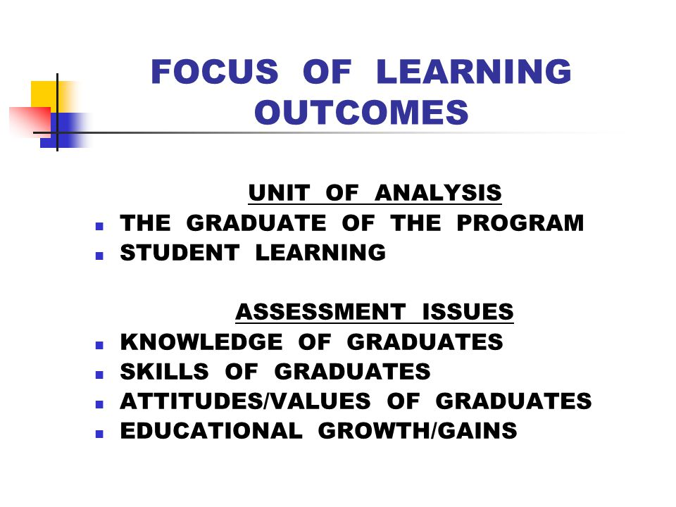 FOCUS OF PROGRAM REVIEW UNIT OF ANALYSIS A DEGREE PROGRAM AN ORGANIZATIONAL UNIT ASSESSMENT ISSUES INPUTS, PROCESSES, OUTPUTS QUALITY INDICATORS PRODUCTIVITY INDICATORS CENTRALITY & VIABILITY ROI & INVESTMENT POTENTIAL