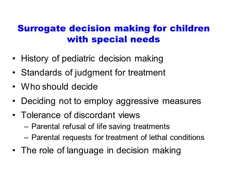 Disagreement- Don ' t Treat/Treat Parents views Providers Views Treat Treat Do not treat