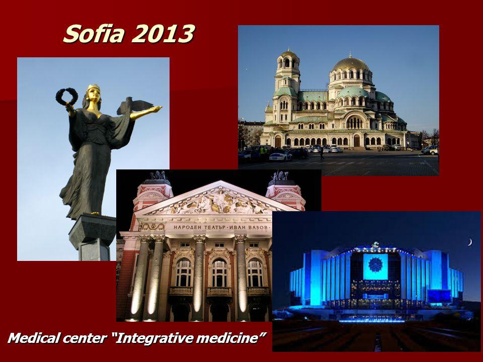 Sofia 2013 Medical center Integrative medicine