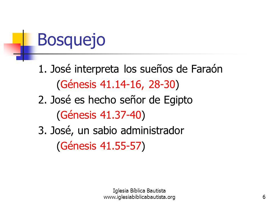 7 Iglesia Bíblica Bautista www.iglesiabiblicabautista.org