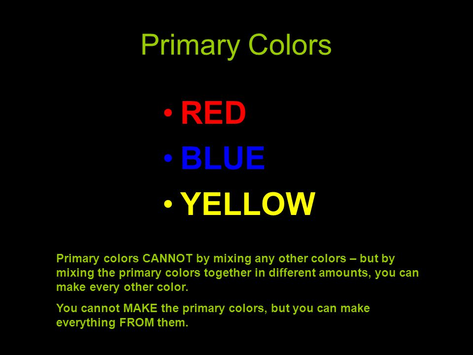 Warm Colors POP COOL COLORS RECEDE BACKWARDS Yellows, Oranges, Reds Red-Violets Greens Blues Blue-Violets You can use all warm colors or all cool colors as a color scheme