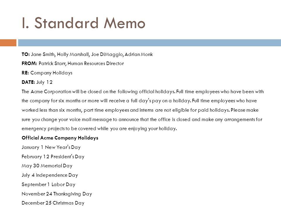 Doc494640 Business Memo Format Word Free Memorandum Template – Standard Memo Template