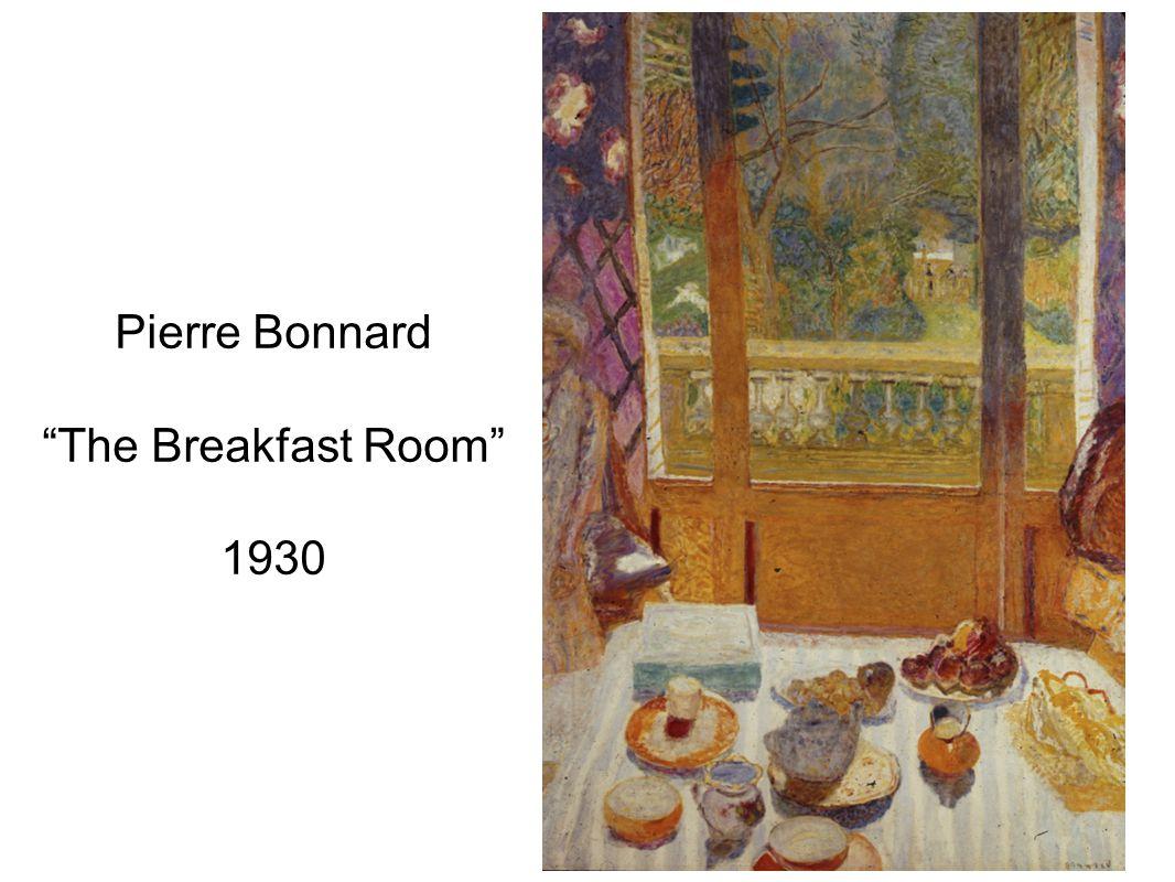 Pierre Bonnard The Breakfast Room 1930