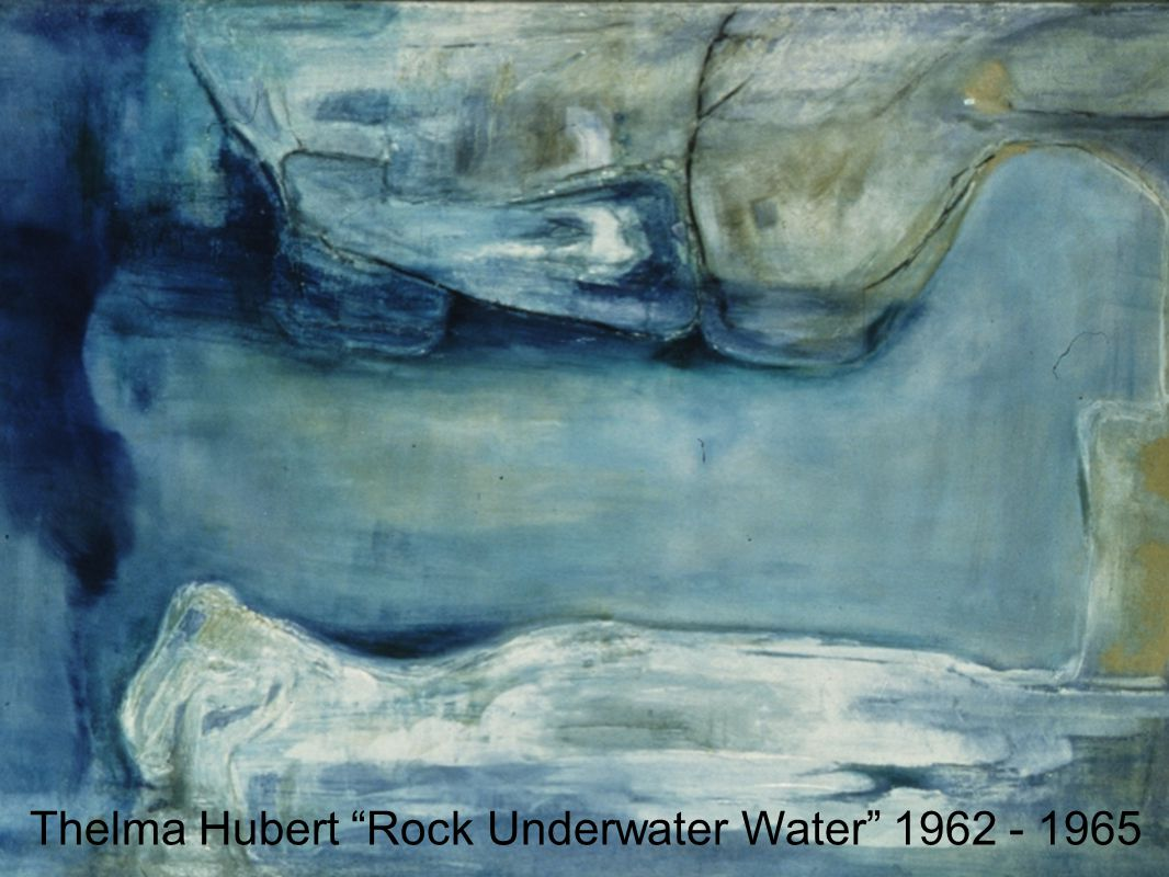 Thelma Hubert Rock Underwater Water 1962 - 1965
