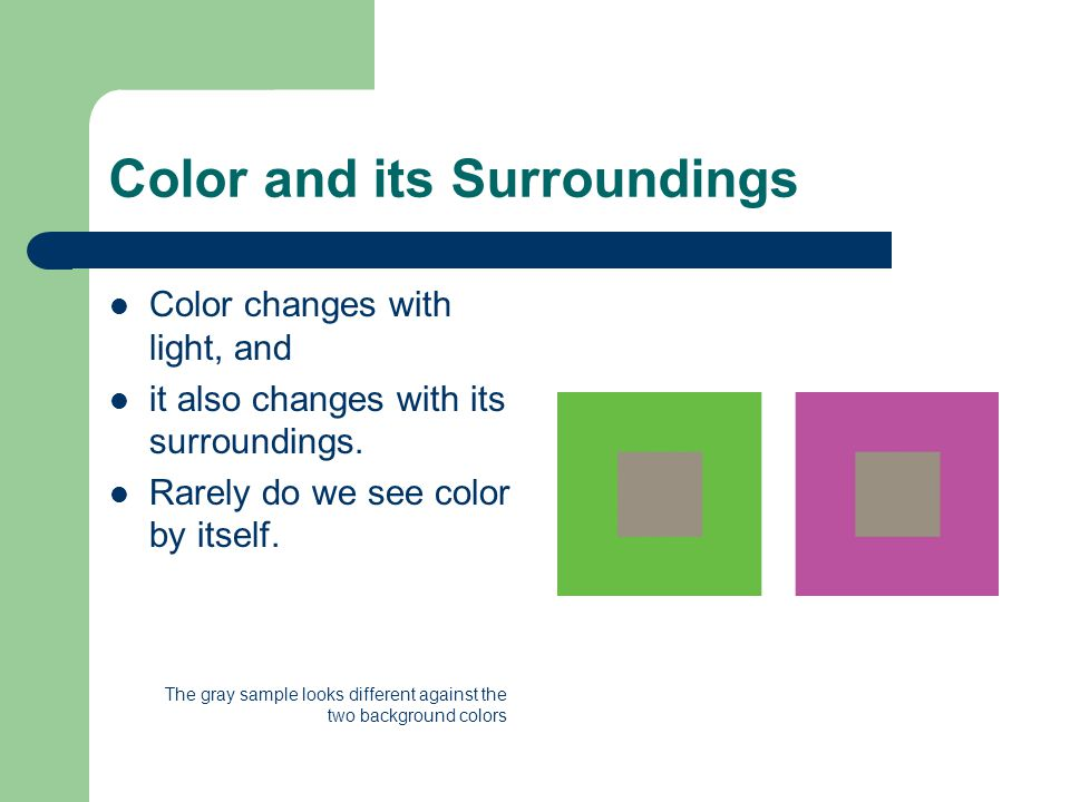 Color as Emphasis Color Dominance Areas of emphasis in a work of art create interest and naturally have been carefully planned by the artist, color can dominate and provide a focal point. Color is so strong a visual element that it will dominate other devices to establish emphasis.