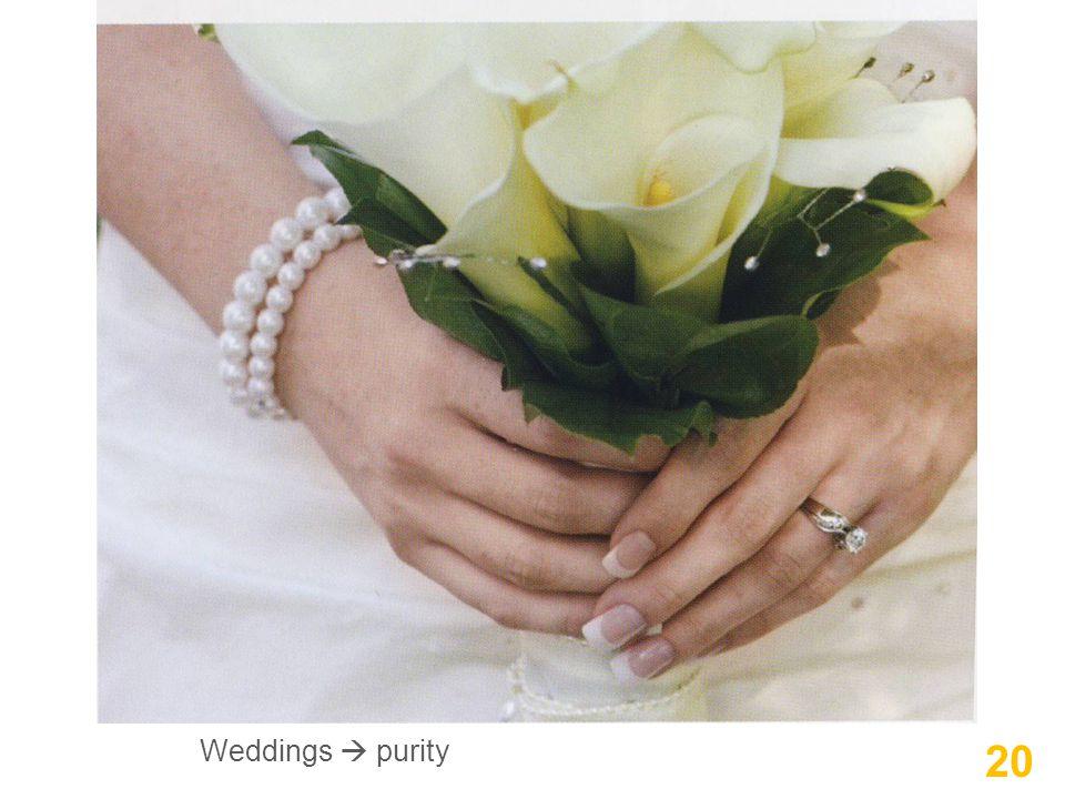 20 Weddings  purity