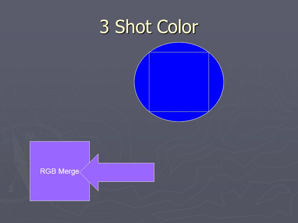 3 Shot Color CCD RGB Merge