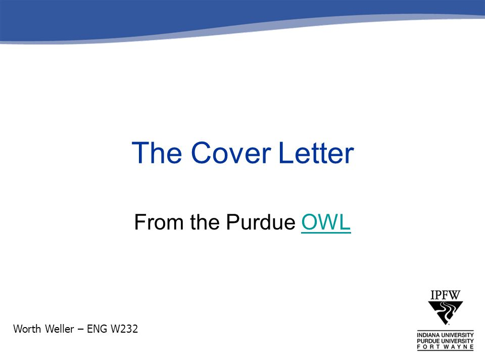 What is it.A cover letter introduces you and your resume to potential employers.