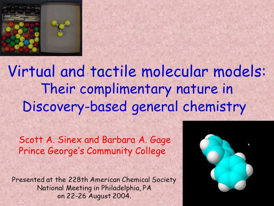 the chemist's world of multiple representations… C6H6C6H6