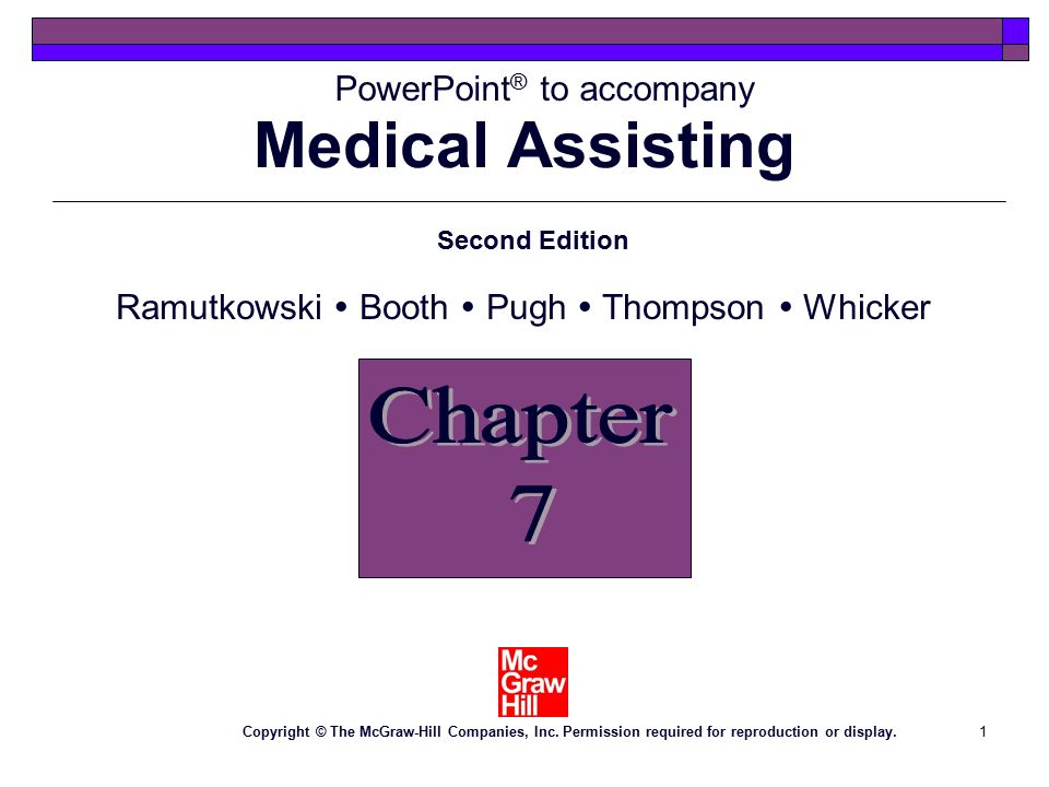 1 PowerPoint ® to accompany Second Edition Ramutkowski  Booth  Pugh  Thompson  Whicker Copyright © The McGraw-Hill Companies, Inc.