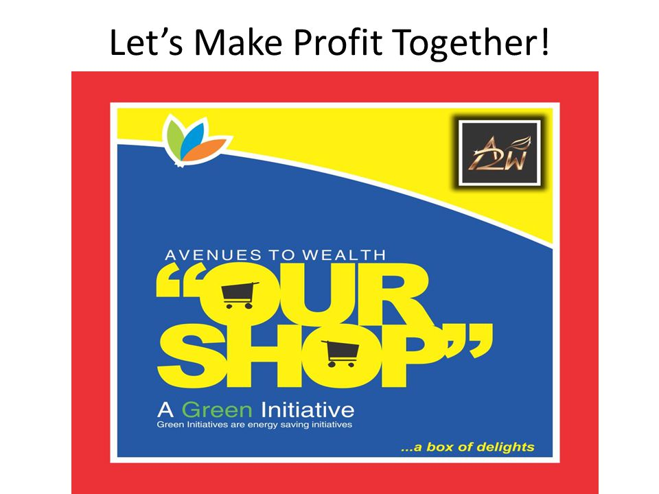 Let's Make Profit Together!