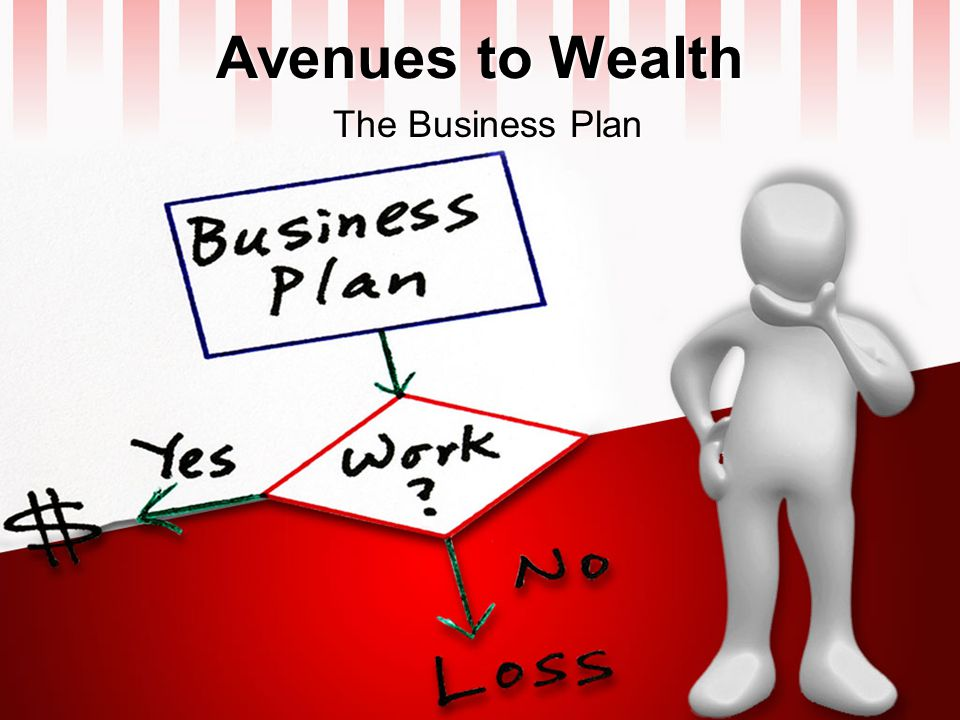 Avenues to Wealth The Business Plan