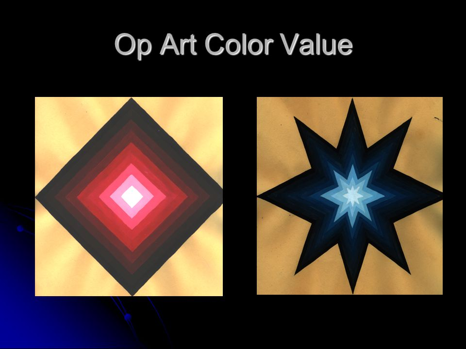 Op Art Color Value
