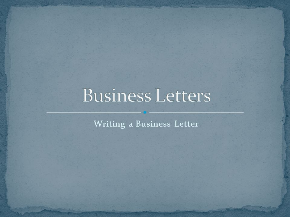The business letter is the basic means of communication between two companies.