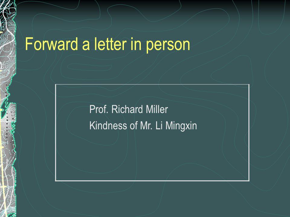 Business Letters (pp.394-408) English Department Beijing Foreign Studies Uni.